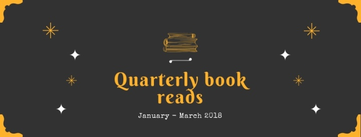 The books I read January – March (2018)