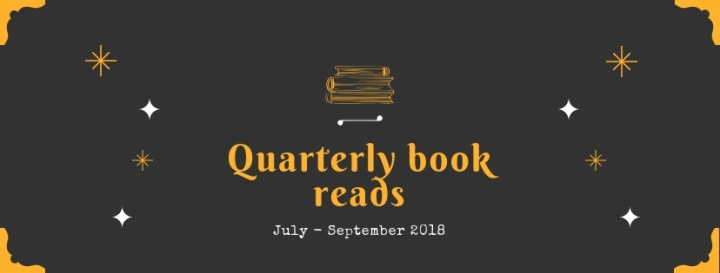 The books I read July – September (2018)