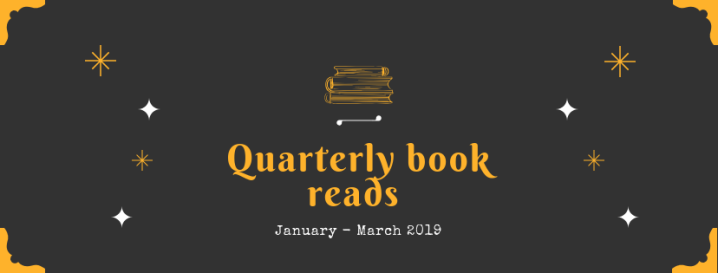 The books I read January – March (2019)