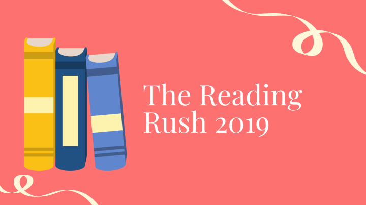 The Reading Rush 2019 TBR